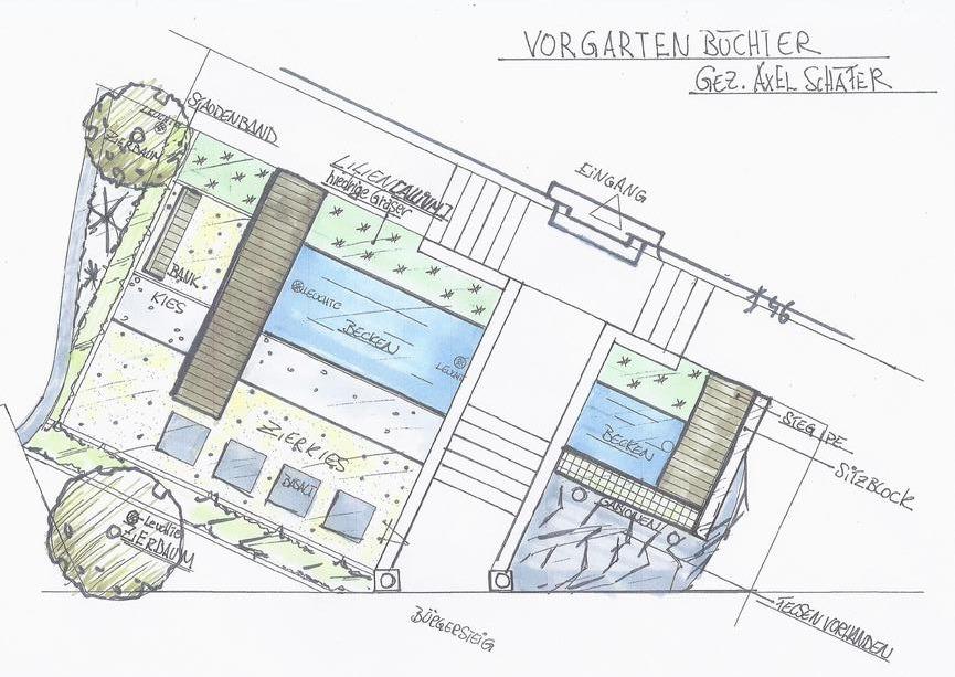 freiraum oekoplan landschaftsarchitekt - Skizzen